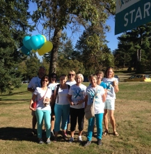 Ovarian Cancer Walk Sept 2014